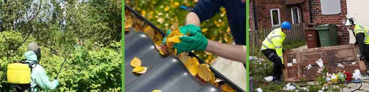 Gutter Clearance and fly-tipping removal